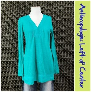 "Anthro ""Mae Henley Tunic"" by Left of Center"